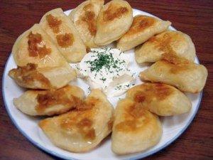 """10 Iconic Cleveland Foods: Pierogi"""" (image courtesy of clevescene.com"""